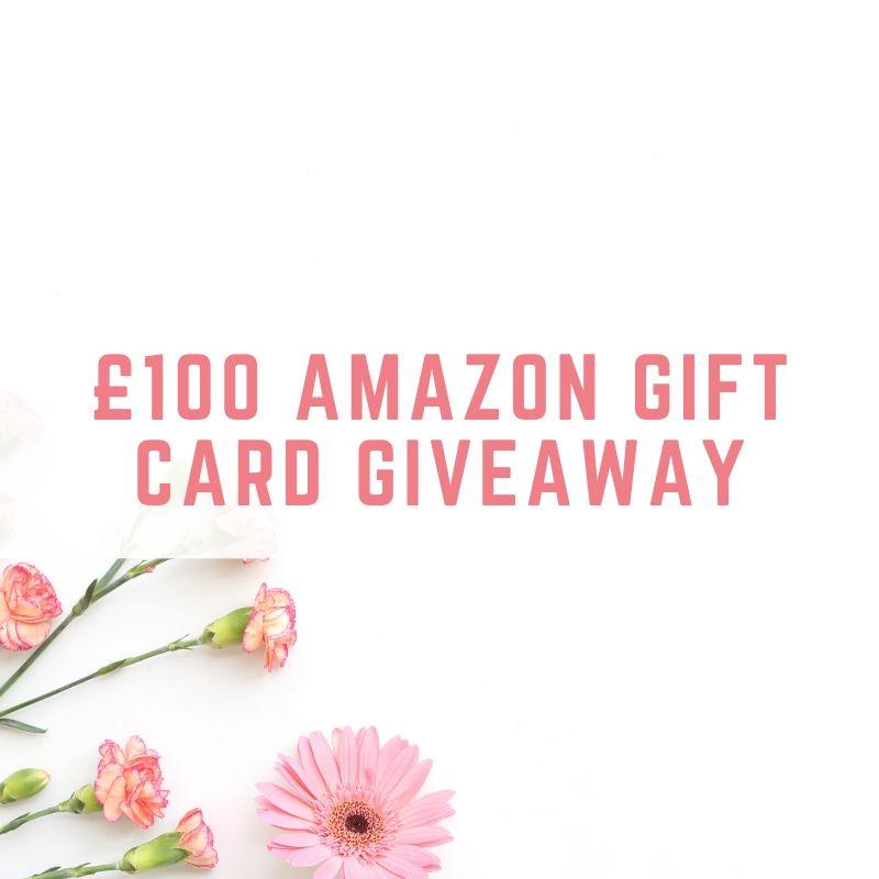 £100 Amazon Gift Card giveaway