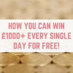How you can win £1,000+ every single day for free