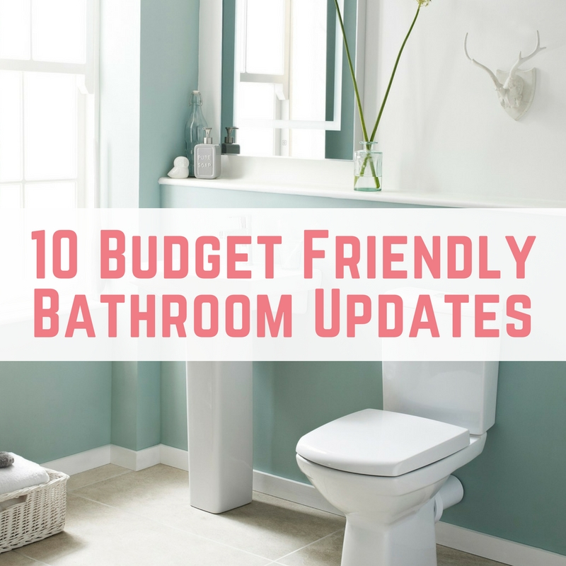 update bathroom on a budget