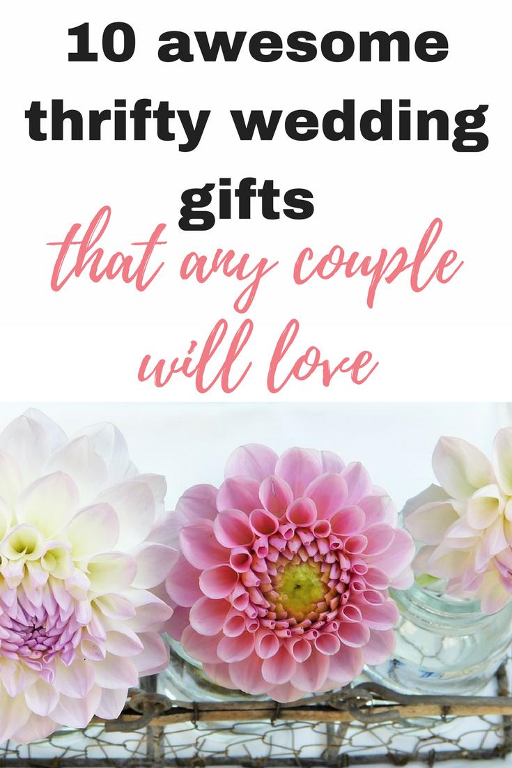 Thrifty wedding