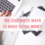 100 legitimate ways to make extra money