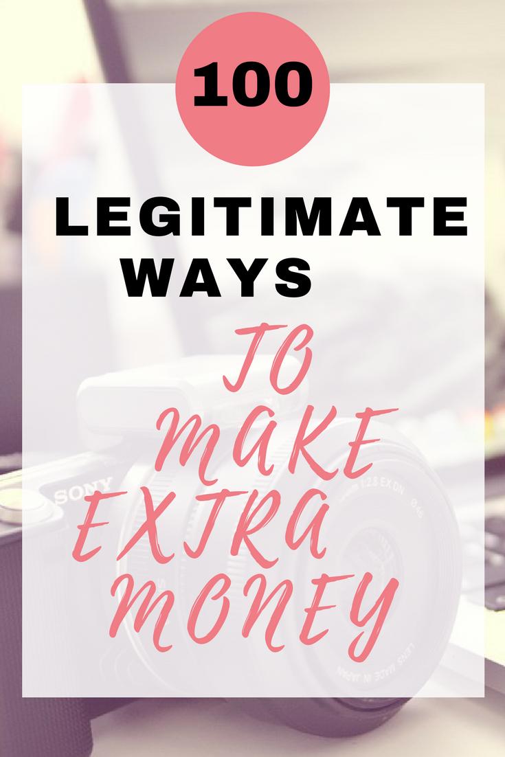 Legitimate extra money
