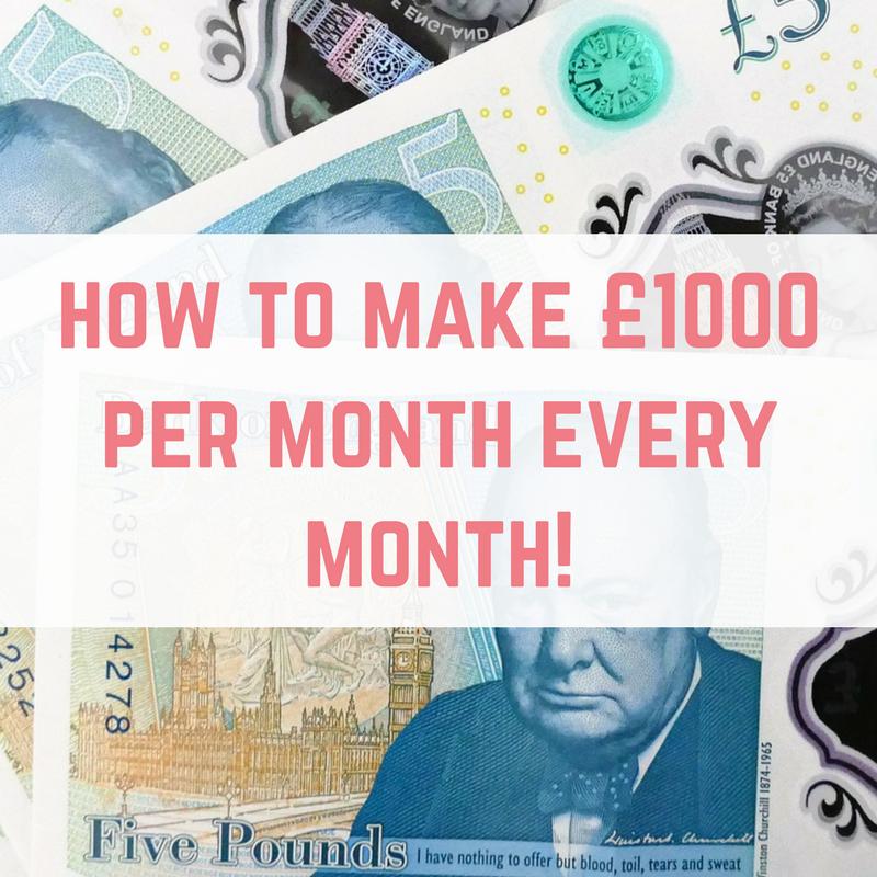 make £1000 a month