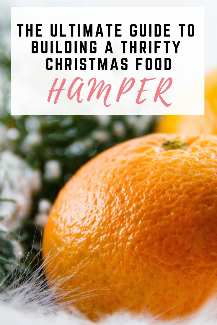 how to build the ultimate thrifty christmas food hamper