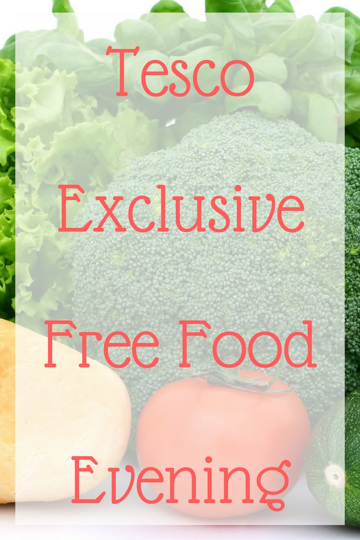 tesco-exclusive-free-food-evening