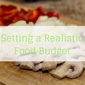 Setting a Realistic Food Budget