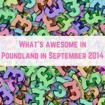 Poundland finds September 2014