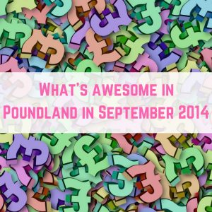 Poundland finds September 2014