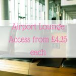 Airport Lounge Access from £4.25 each