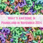 Poundland finds November 2014