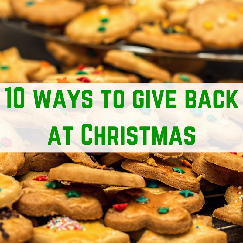 give back at Christmas time