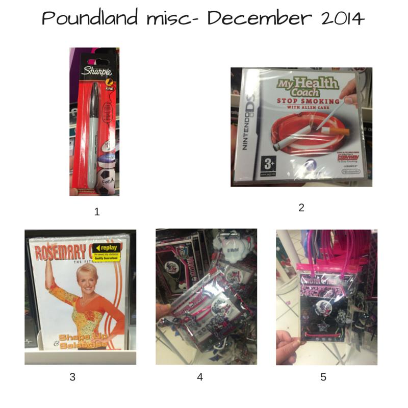 Poundland Dec 1