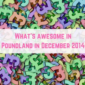 Poundland finds December 2014