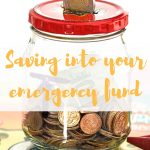 Saving into your emergency fund
