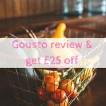 Gousto review & £25 off