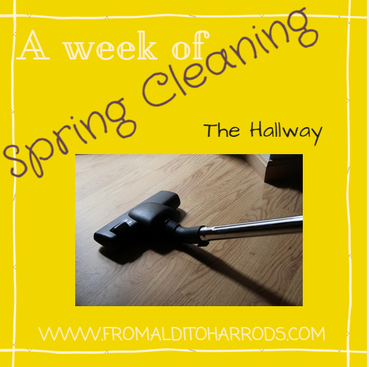 A week of Spring Cleaning - The Hallyway