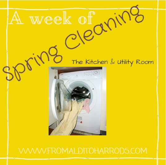 A week of Spring Cleaning - The Kitchen