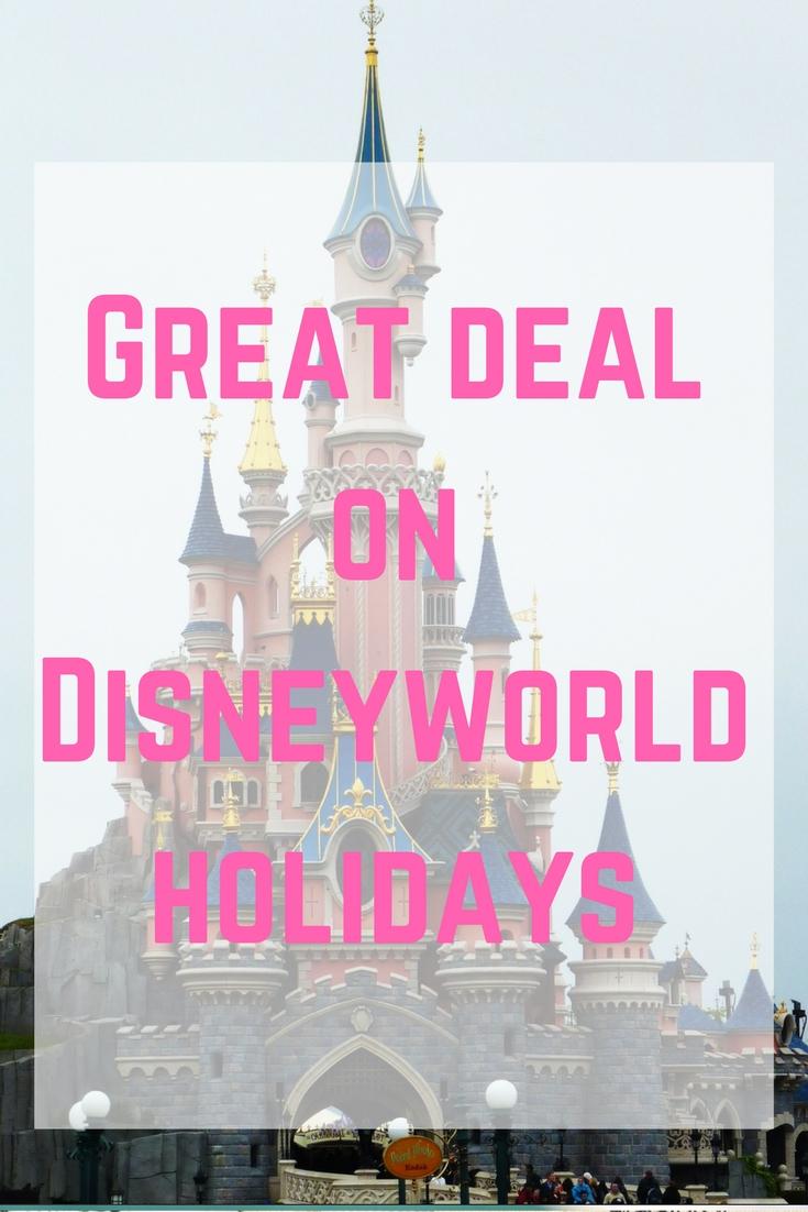 great deals on disneyworld holidays