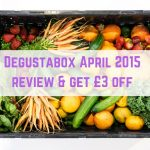 Degustabox April 2015 review & get £3 off