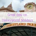Great deal on Disneyworld holidays