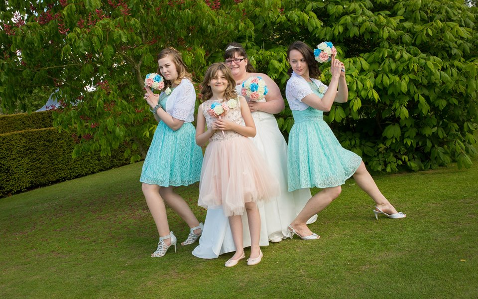 From Aldi To Harrods wedding bridesmaids