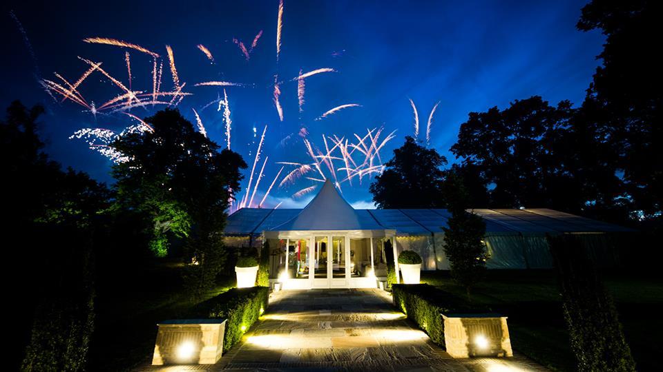 From Aldi To Harrods wedding fireworks
