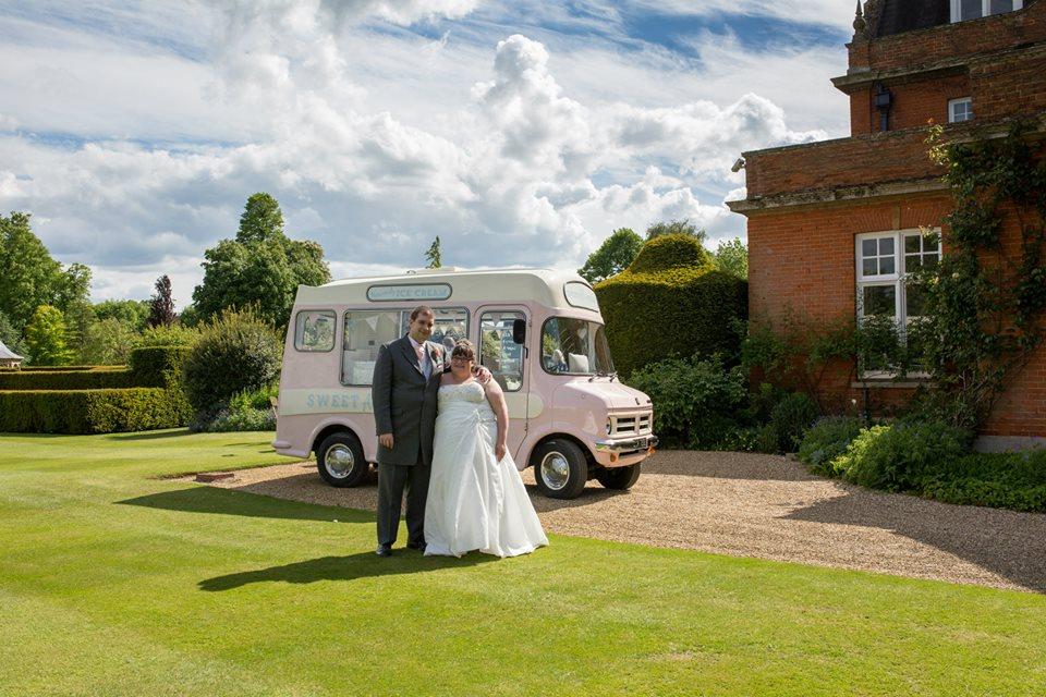 From Aldi To Harrods wedding ice cream van