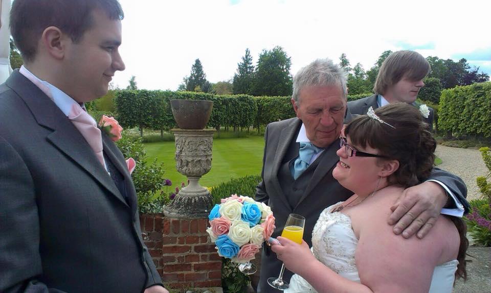From Aldi To Harrods wedding reception