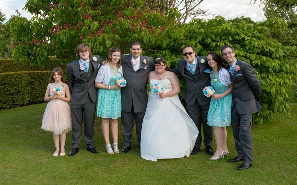 From Aldi To Harrods wedding wedding party