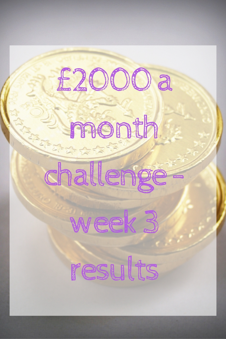 £2000 a month challenge results