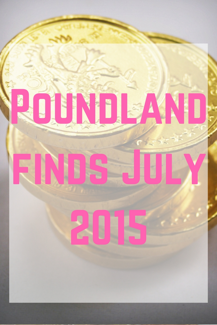Poundland finds July 2015