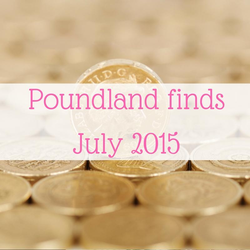 Poundland finds July 2015