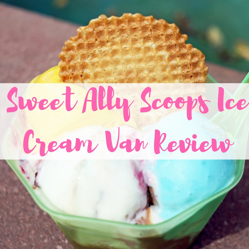 Sweet Ally Scoops Ice Cream Van Review