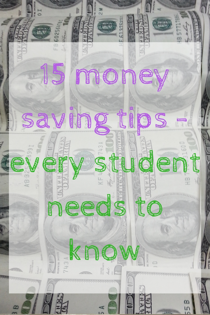 student money saving tips