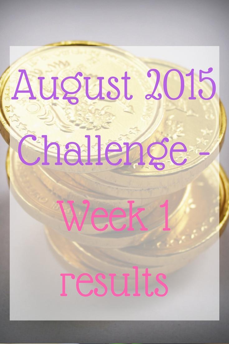 August 2015 Challenge