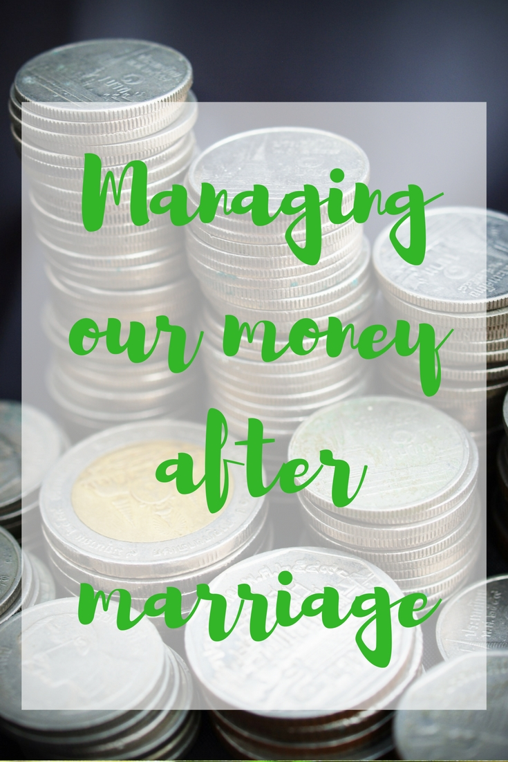 money after marriage
