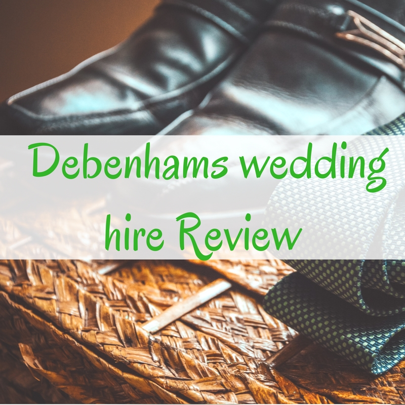 Debenhams wedding hire Review