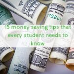 15 money saving tips that every student needs to know
