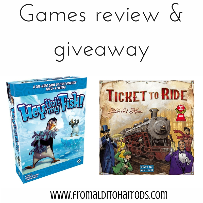 Games review and a giveaway