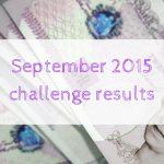September 2015 challenge results