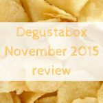 Degustabox November 2015 review