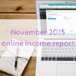 November 2015 online income report
