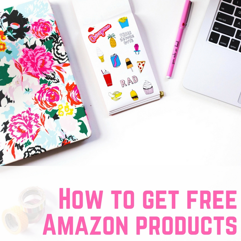 Free Amazon products