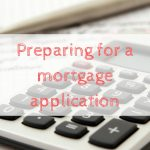 Preparing for a mortgage application