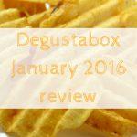 Degustabox January 2016 review