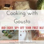 Cooking with Gousto