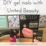 DIY gel nails with United Beauty