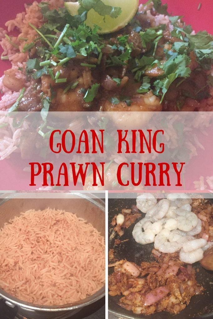 Goan king prawn curry