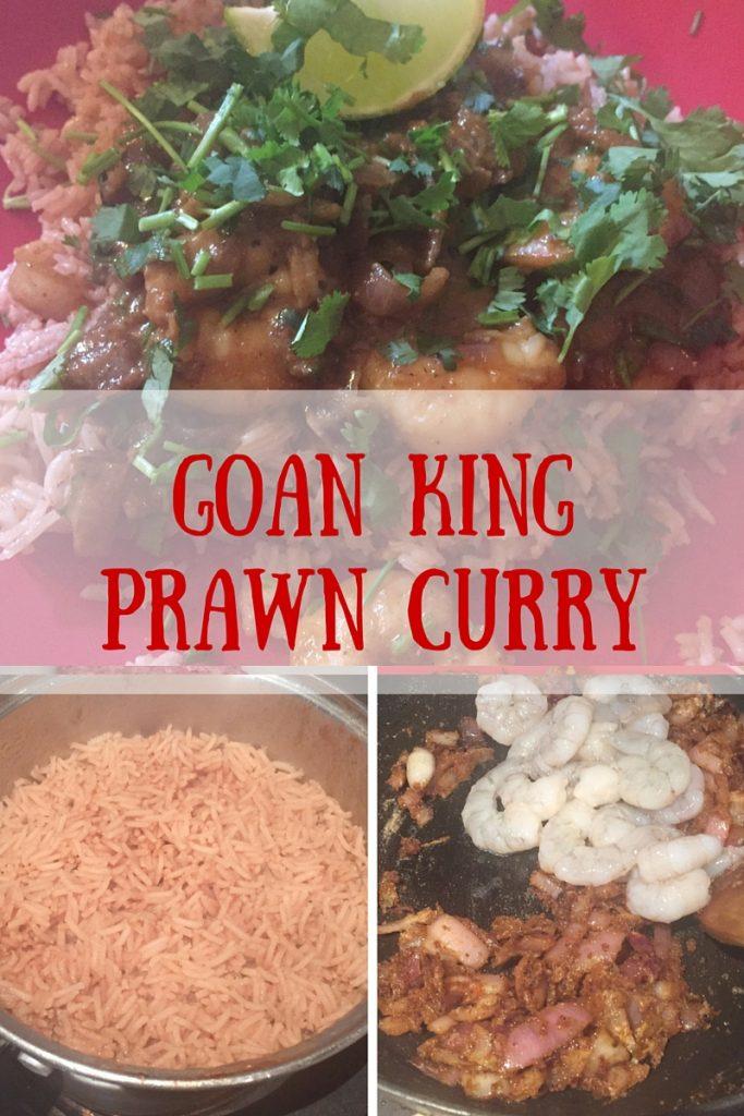 Goan king prawn curry