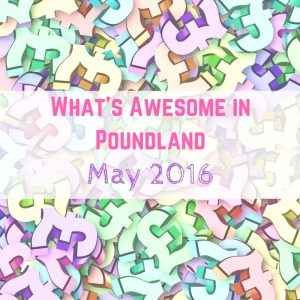 What's Awesome in Poundland May 2016